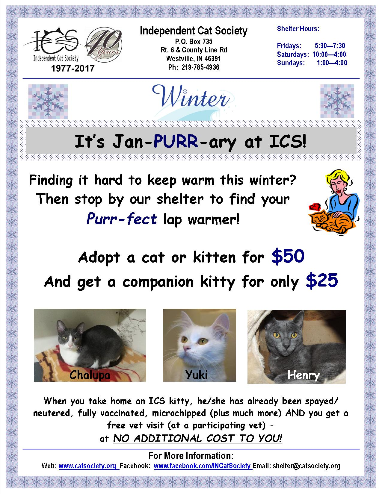 January Adoption Event